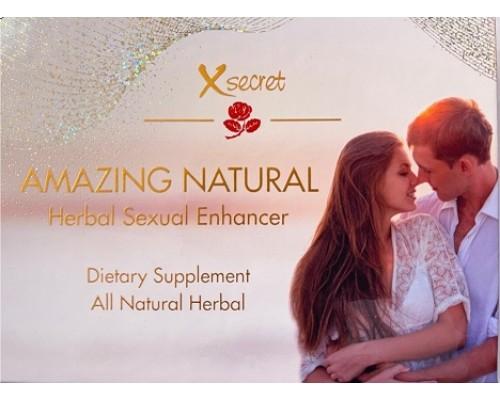 Sanaderm XSecret - Herbal Sexuxal Enhancer (Diet Supplement For Men Only)
