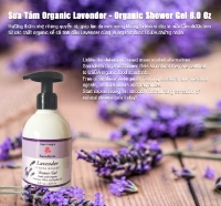 Organic Shower Gel - Lavender
